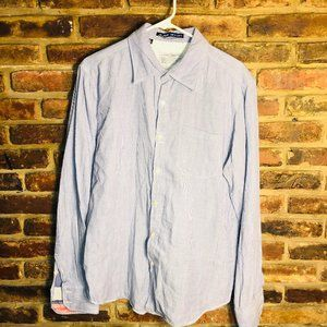 Men's Jachs just a cheap shirt button down Large